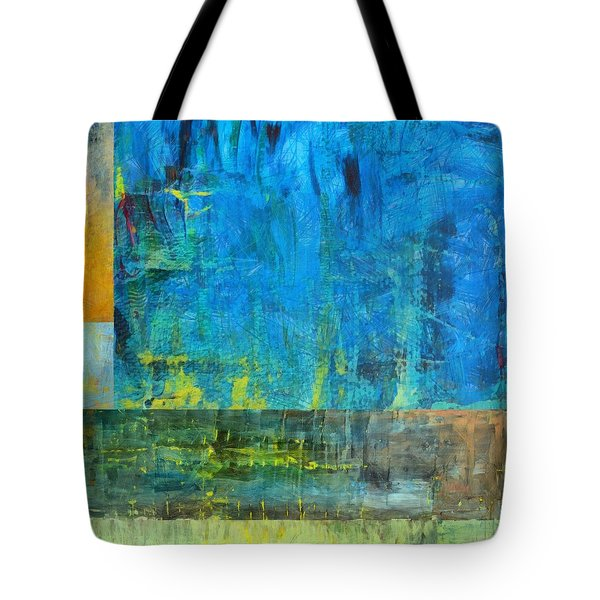 Essence of Blue Tote Bag by Michelle Calkins