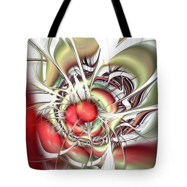 Eternal Battle Tote Bag by Anastasiya Malakhova