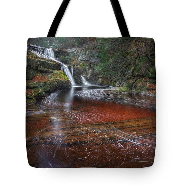 Ethereal Autumn Square Tote Bag by Bill  Wakeley
