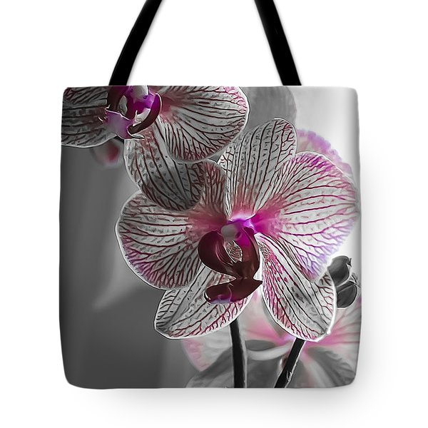 Ethereal Orchid Tote Bag by Bianca Nadeau