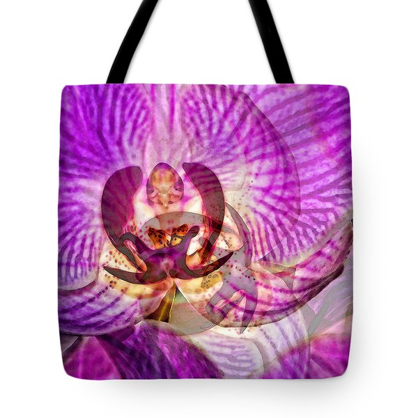 Ethereal Orchid By Sharon Cummings Tote Bag by Sharon Cummings