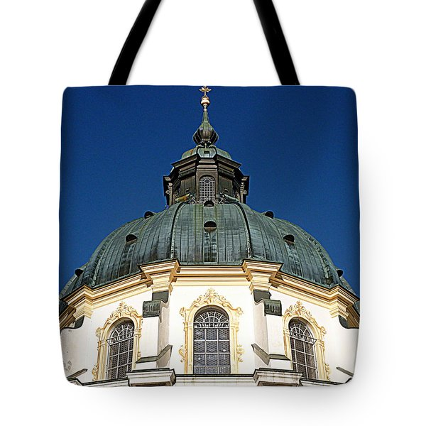 Ettal Abbey Bavaria Tote Bag by The Creative Minds Art and Photography