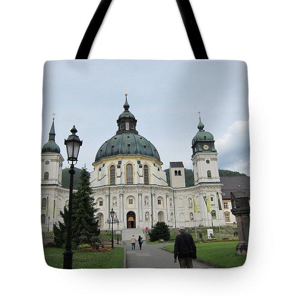 Ettal Abbey Tote Bag by Pema Hou