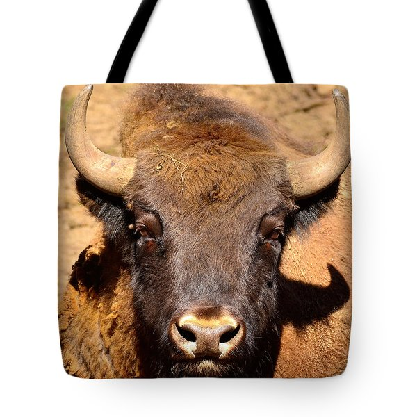 European Bisons Tote Bag by Toppart Sweden