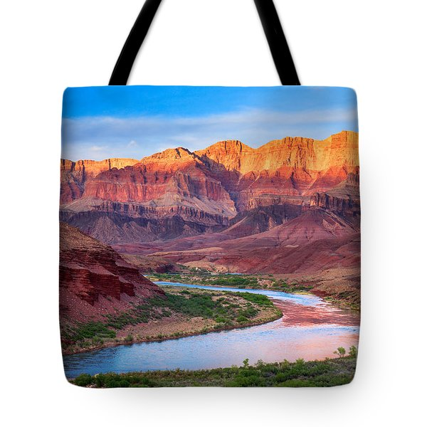 Evening At Cardenas Tote Bag by Inge Johnsson