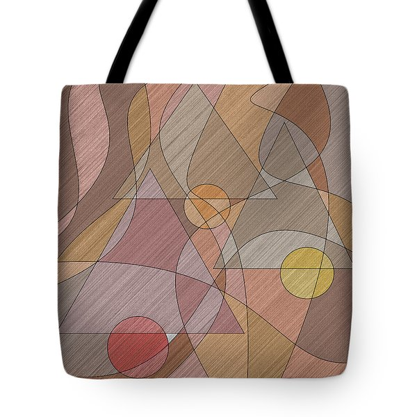 Evening Bells Tote Bag by Val Arie