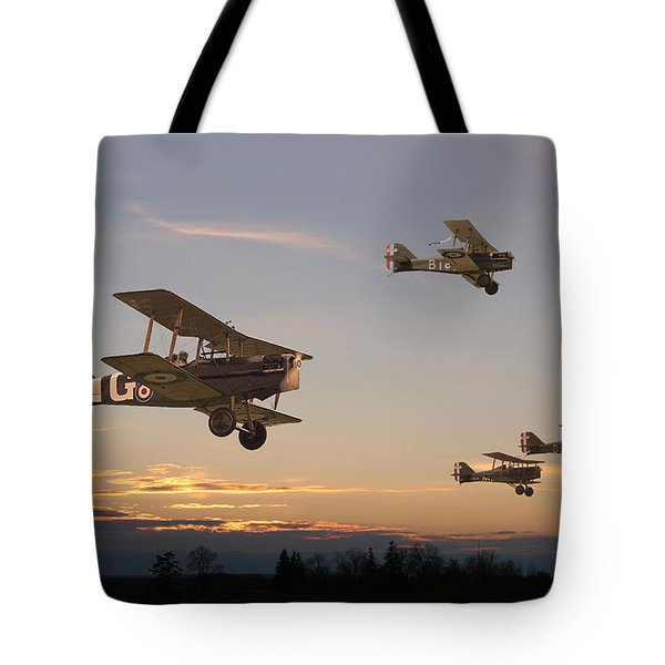 Evening Flight Tote Bag by Pat Speirs