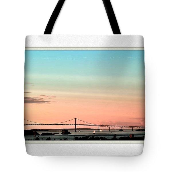 Evening Glow Tote Bag by Tom Prendergast