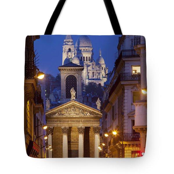 Evening In Paris Tote Bag by Brian Jannsen