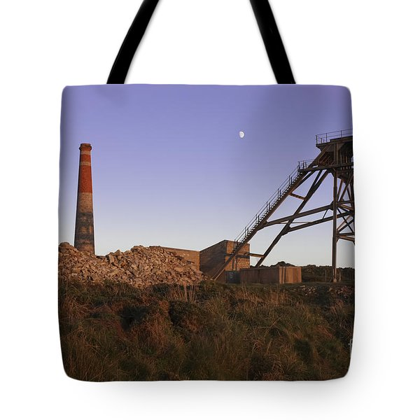 Evening Light At Botallack Tote Bag by Terri  Waters
