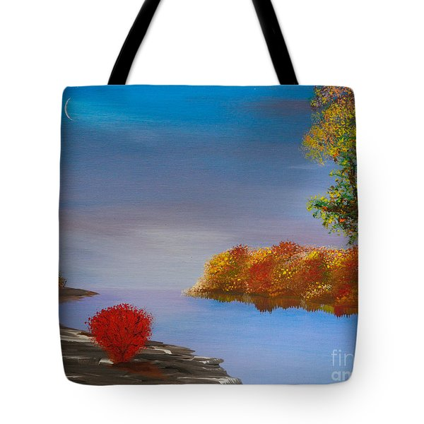 Evening On The Last Sunny Day Tote Bag by Alys Caviness-Gober