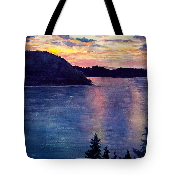 Evening Song Tote Bag by Brenda Owen