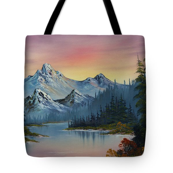 Evening Splendor Tote Bag by C Steele