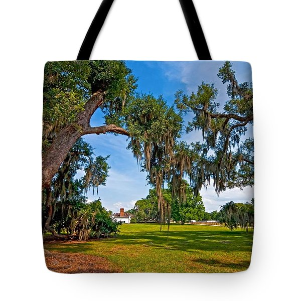 Evergreen Plantation II Tote Bag by Steve Harrington