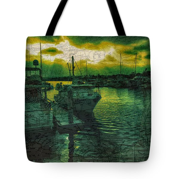 Every Port Tote Bag by Cheryl Young