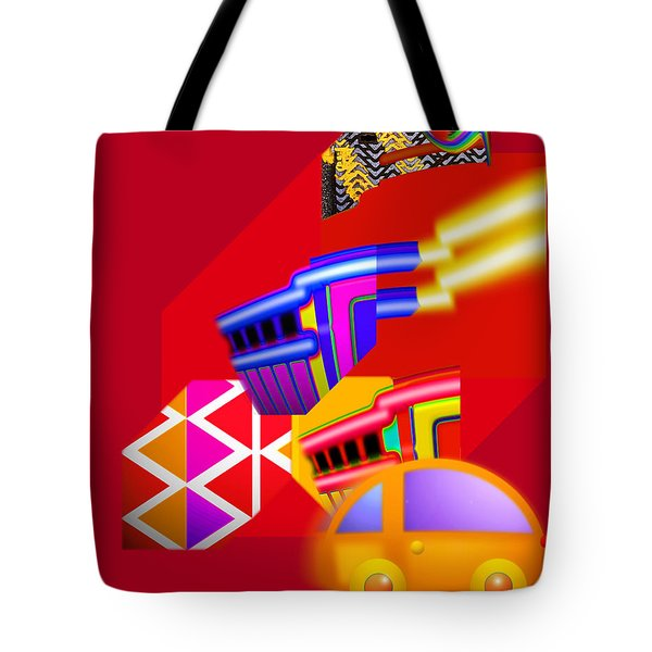 Every Thing You Do Tote Bag by Charles Stuart