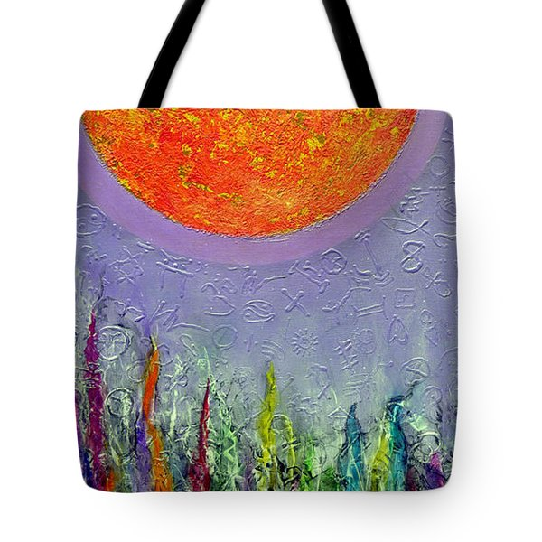 Everything Under The Sun Tote Bag by Jim Whalen