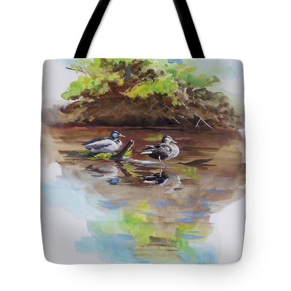 Everythings Just Ducky Tote Bag by Suzanne Schaefer