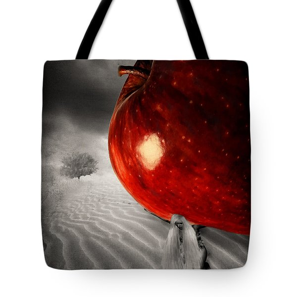 Eve's Burden Tote Bag by Lourry Legarde