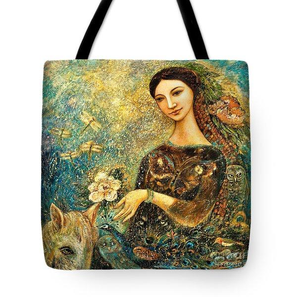 Eve's Orchard Tote Bag by Shijun Munns
