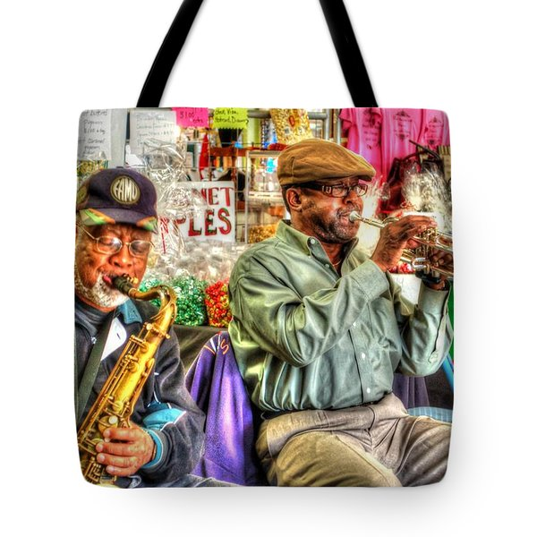 Excelsior Band Horn Players Tote Bag by Michael Thomas