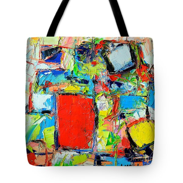 EXCESS INSTINCT Tote Bag by ANA MARIA EDULESCU