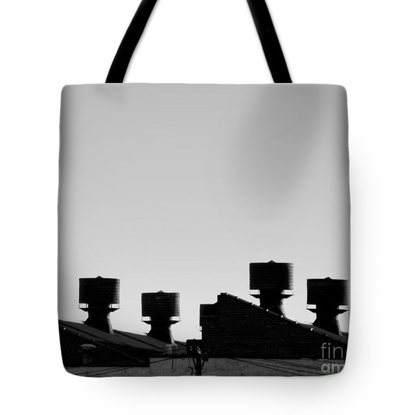 Exhausted Tote Bag by James Aiken