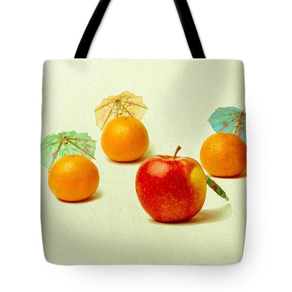 Exotic Fruit Tote Bag by Alexander Senin