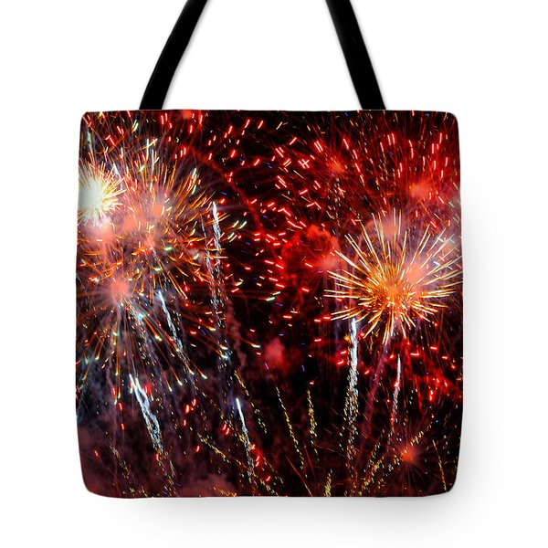 Explode Tote Bag by Diana Angstadt