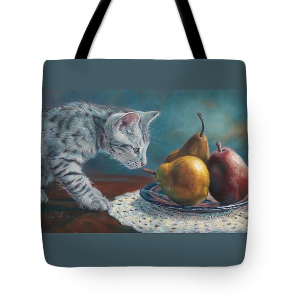 Exploring Tote Bag by Lucie Bilodeau