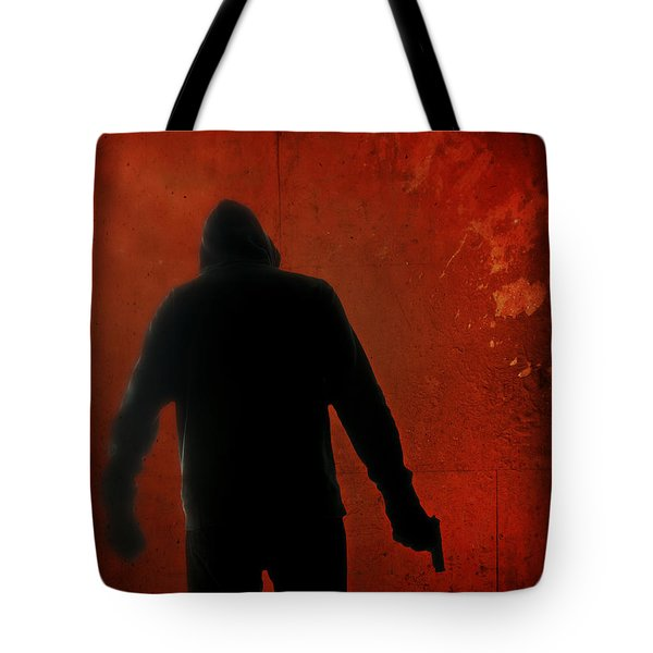 Explosive Tote Bag by Edward Fielding