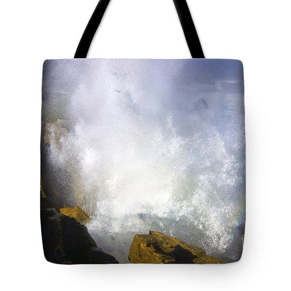 Explosive Tote Bag by Mike  Dawson