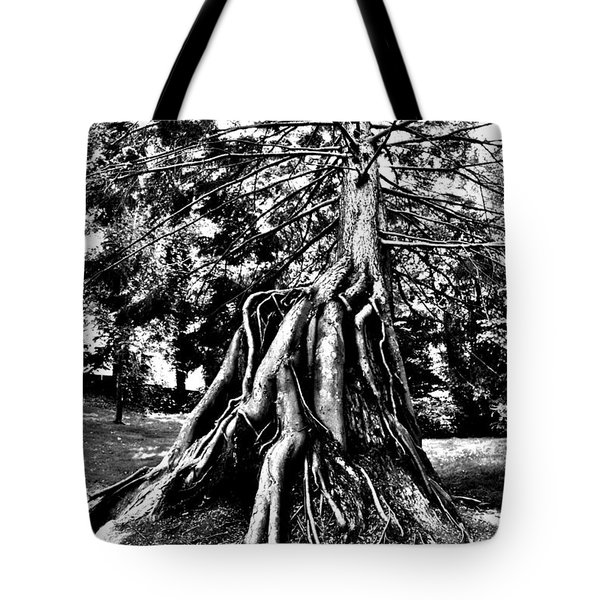 Exposed Tote Bag by Benjamin Yeager