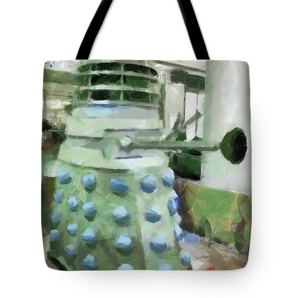 Exterminate Tote Bag by Steve Taylor