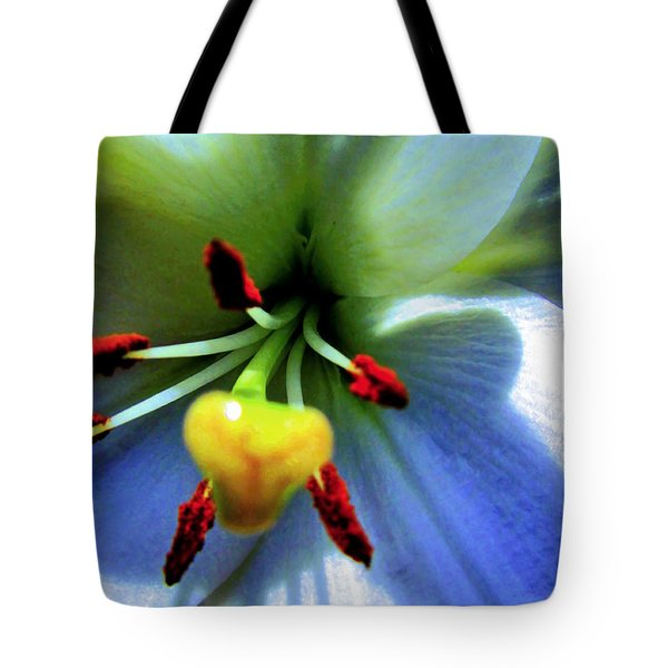 Extrem Lily Heart Tote Bag by Danielle  Parent