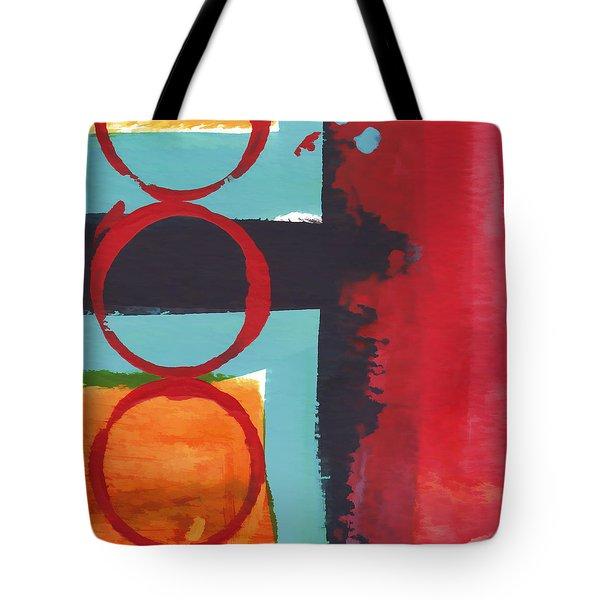 Exuberance Mini 01 Tote Bag by Carol Leigh
