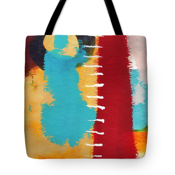 Exuberance Mini 11 Tote Bag by Carol Leigh