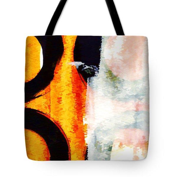 Exuberance Mini 13 Tote Bag by Carol Leigh