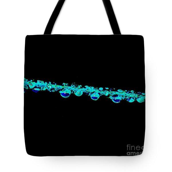 Eye Drops Tote Bag by Carol Lynch