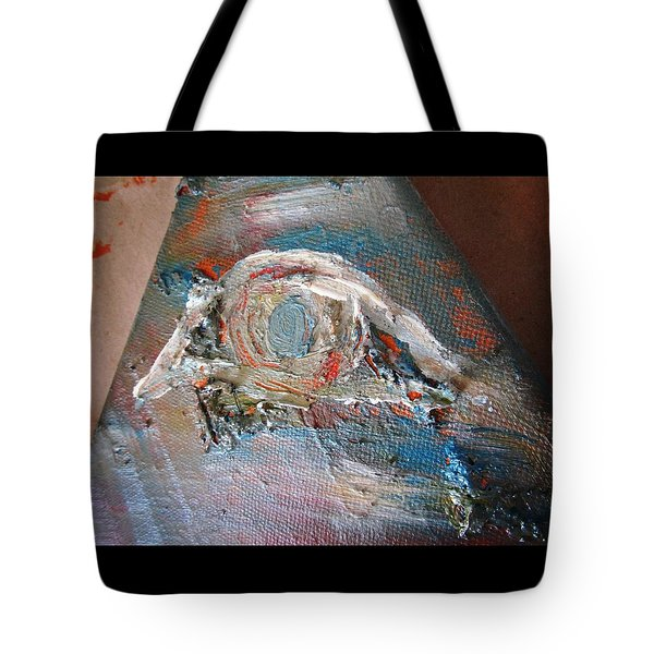 Eye Tote Bag by Marianna Mills