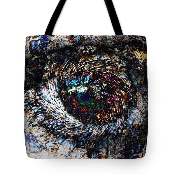 Eye Of A Hurricane Called You Tote Bag by Elizabeth McTaggart