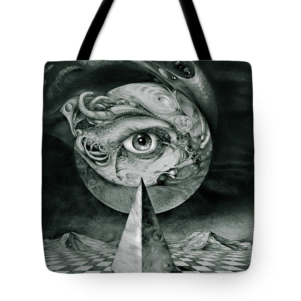 Eye Of The Dark Star Tote Bag by Otto Rapp