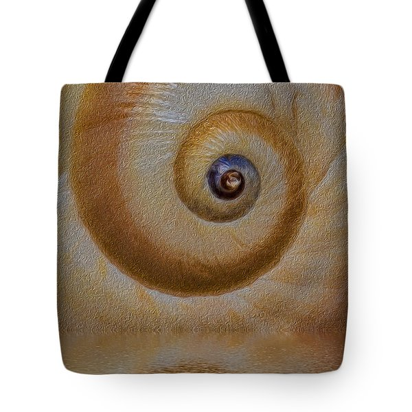 Eye Of The Snail Tote Bag by Susan Candelario