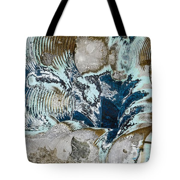 Eye Of The Storm Tote Bag by Carol Leigh