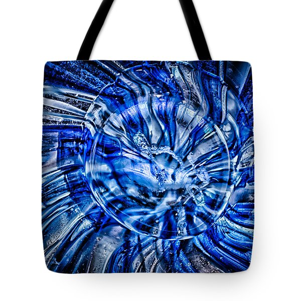 Eye Of The Storm Tote Bag by Omaste Witkowski