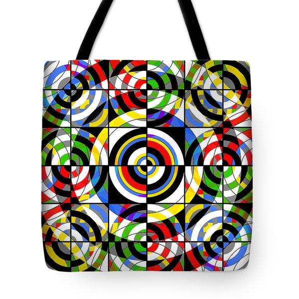 Eye On Target Tote Bag by Mike McGlothlen