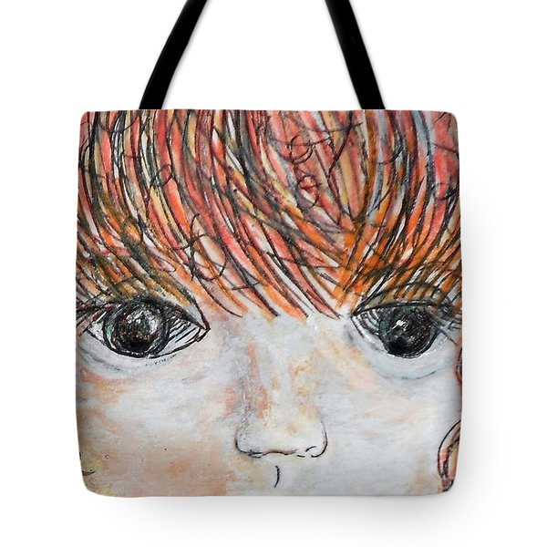 Eyes Of Innocence Tote Bag by Eloise Schneider