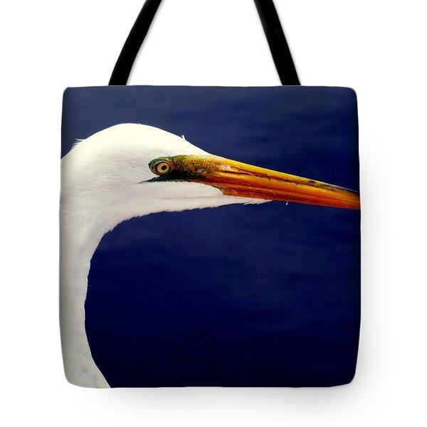 Eyes Of Steel Tote Bag by Karen Wiles