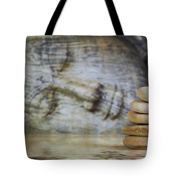 F L O A T E D . T E M P L E Tote Bag by Thomas Herzog