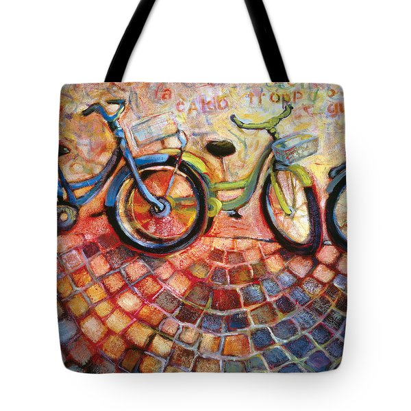 Fa Caldo Troppo Guidare Tote Bag by Jen Norton